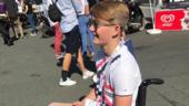 Monger, il 18enne che ha perso le gambe vuole Le Mans
