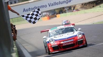 Carrera Cup Italia, successi di Pera e Rovera a Vallelunga