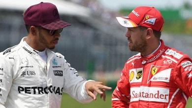 Botta (e risposta) tra Hamilton e Vettel: ostruzioni e reazioni