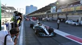 Team radio a Baku, Hamilton: