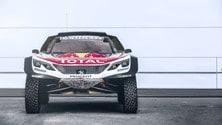 Peugeot 3008DKR Maxi, le foto
