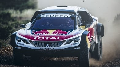 Peugeot svela la 3008DKR Maxi, debutto al Silk Way Rally