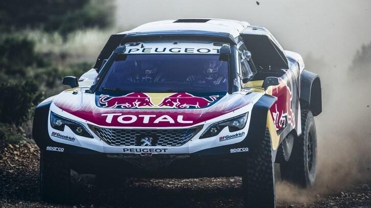 Peugeot svela la 3008DKR Maxi, debutto al Silk Way Rally