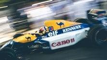 Williams celebra i suoi 40 anni al Festival of Speed: foto
