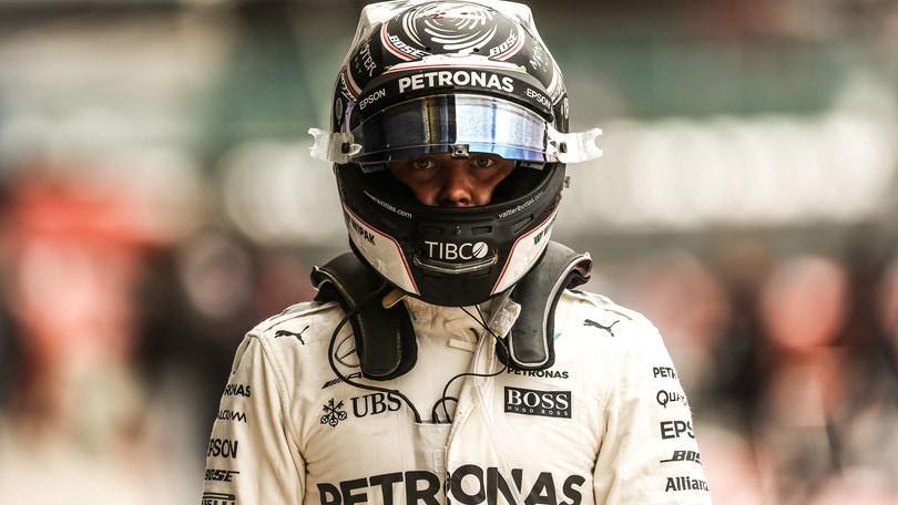 Formula 1, Gp Gran Bretagna: Bottas il più veloce nelle seconde libere