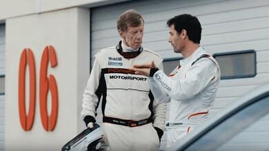 Nonno Roehrl sfida Webber sulla nuova 911 GT2 RS