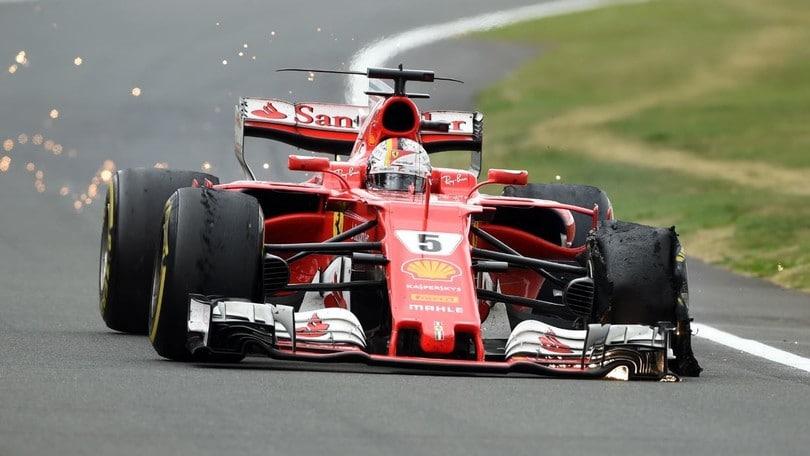 Pirelli conclude le indagini sulla gomma di Vettel a Silverstone