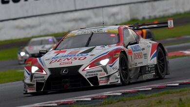 Caldarelli balza in testa al Super GT