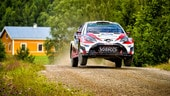 Rally Finlandia: Ogier out, Latvala leader