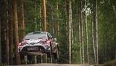Rally di Finlandia: Lappi sempre leader, forfait Ogier