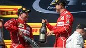 """F1 Ungheria, Vettel: """"È stato un gran raccolto per il team"""""""