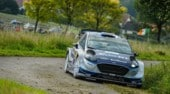 Rally Germania, Tanak chiude in testa la prima tappa