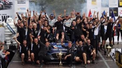 Rally Germania, Tanak vince e Ogier torna in testa al Mondiale