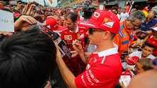 Formula 1, la Marea Rossa invade Monza