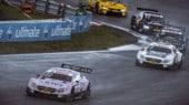DTM Nurburgring, la pioggia premia Auer in gara 1