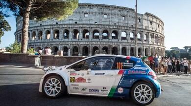 Rally Roma Capitale, show ai piedi del doppio Colosseo