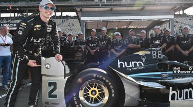 Il team Penske domina la qualifica della finale IndyCar a Sonoma