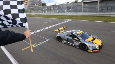 Alla Audi di Frijns e Leonard il titolo Sprint della Blancpain Gt