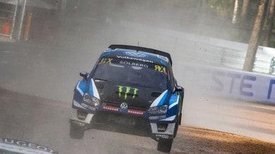 Rallycross, che botta per Solberg: verrà operato