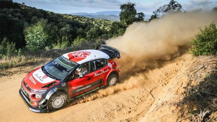 WRC, Loeb testa la C3 in Spagna sullo sterrato
