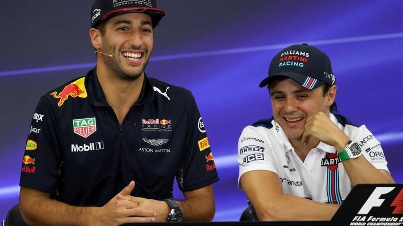 Formula 1, Ricciardo: «Prossima stagione Red Bull deve essere competitiva da subito»