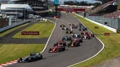 Formula 1 Giappone, i team radio: Vettel a bassa voce, Hamilton chiede pista