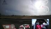 Abbiamo fatto un giro con Meeke sulla Citroen C3 WRC