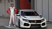 Honda Civic Type-R TCR, primi test in ottica 2018