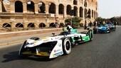 Formula E, presentato l'e-prix Roma 2018