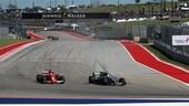 F1 Usa: Hamilton vince davanti a Vettel il GP dei colpi di scena