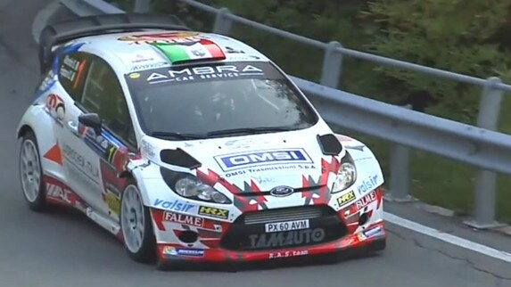 Italiano WRC - Rally Como: la manita di Albertini