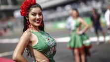 Formula 1, le grid girl di Città del Messico