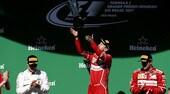 Formula 1 Brasile, Vettel: meglio tardi che mai