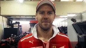 """F1 Brasile, Vettel: """"Grazie del supporto ragazzi"""""""