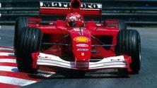 Asta record per la Ferrari 2001 di Schumi