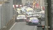 GP Macao, demolition derby nella qualyfing race della FIA GT World Cup