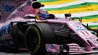 Formula 1 Abu Dhabi: suona la campanella sul match Perez-Ocon