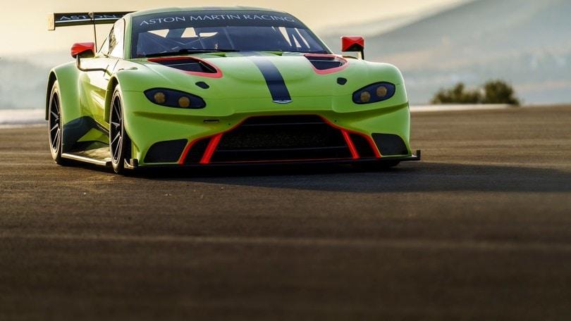 WEC, Aston Martin volta pagina: presentata la Vantage GTE 2018