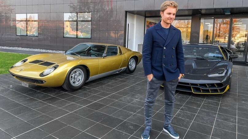 Nico e Keke Rosberg alla Lamborghini