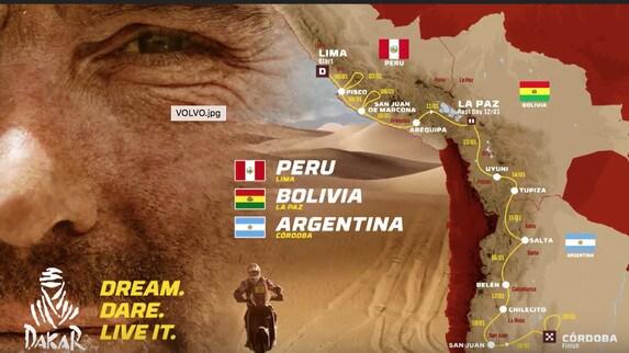 Dakar 2018: il percorso della 40esima edizione