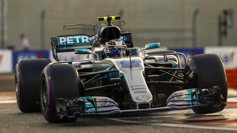 Formula Uno: pole Bottas ad Abu Dhabi