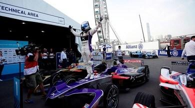Formula E Hong Kong: Bird, prova di forza nel primo e-prix