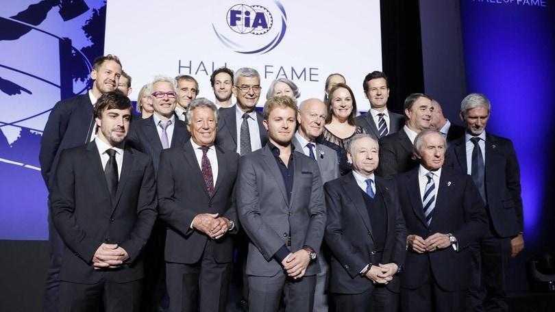 Nasce la Hall of Fame della Fia