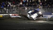 Motor Show, Solberg capotta al Memorial Bettega