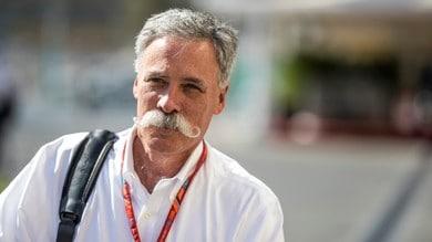 Formula 1, Chase Carey lavora al GP di Danimarca