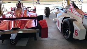 Formula E, dietro le quinte dei test con Andrea Caldarelli