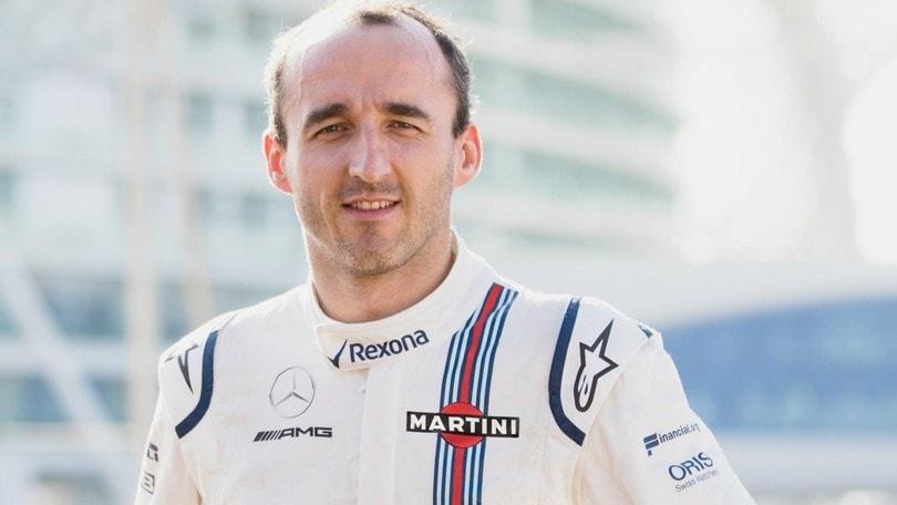 Formula 1, Kubica terzo pilota Williams: ma l'obiettivo rimane la prima squadra
