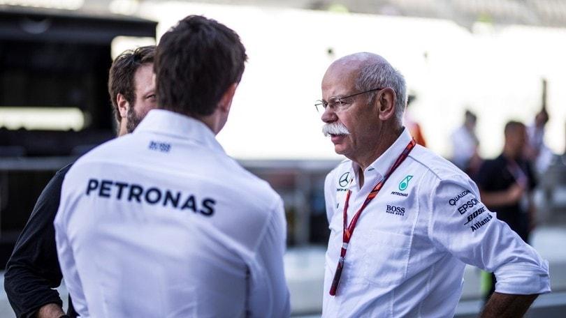 Mercedes, Zetsche sposa la visione Marchionne della Formula 1