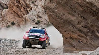 Dakar tappa 12: Al-Attiyah vince il duello con Peterhansel