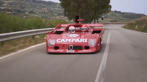 Alfa Romeo 33TT12 e Arturo Merzario: leggende senza età